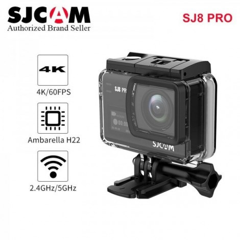 Action camera SJCAM SJ8 Pro ULTRA-HD 4K 60FPS WiFi