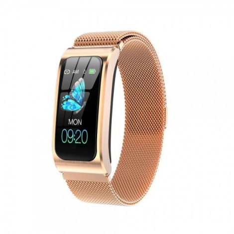AK12 smartwatch woman fitness 1,14 & IP68 waterproof, tracker, Android, IOS