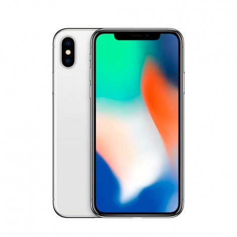 Apple iPhone X 256GB Silver (Refurbished Like New)