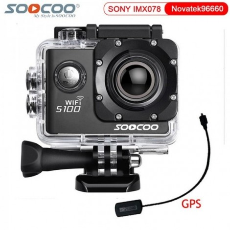 Camera Ultra HD 4K SOOCOO S100, WIFI, GPS