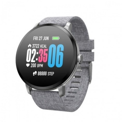 Sport watch smart tempered glass, waterproof, Android IOS